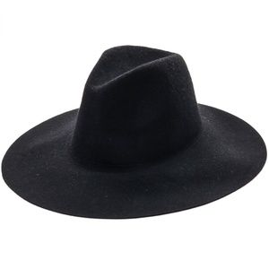 Accessories - Wide Felt Cowboy Western Hat